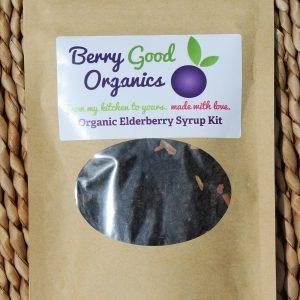 Organic Elderberry Syrup Kit