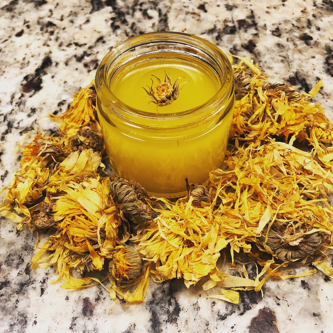 2oz Healing Elderflower & Calendula Salve