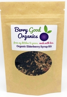 Berry Good Organics Elderberry Syrup Kit