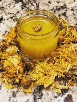 4oz Healing Elderflower & Calendula Salve