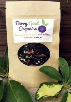 Berry good Organics Elderberry Syrup Kit